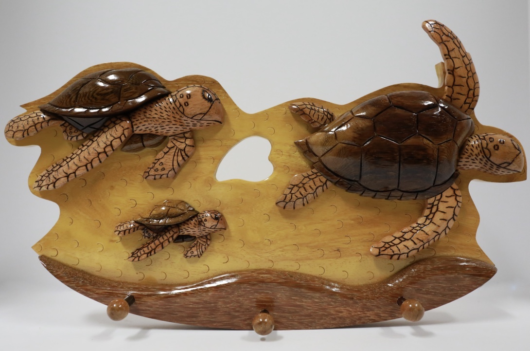 Wood family turtle